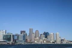 Boston Massachusetts. The city of Boston Massachusetts as seen from the inner harbor Stock Photo
