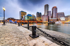 Boston Massachusetts Cityscape Stock Images