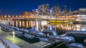 Boston in Massachusetts, de V royalty-vrije stock fotografie