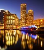 Boston in Massachusetts, de V Stock Foto's
