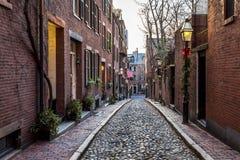 Boston in Massachusetts, de V Stock Afbeelding