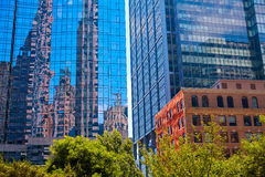 Boston in Massachusetts downtown buidings Stock Photography