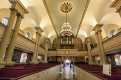 Boston Massachusetts Kings Chapel Stock Image