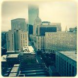 Boston, Massachusetts skyline Royalty Free Stock Images