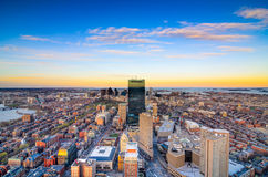 Boston Massachusetts Skyline Royalty Free Stock Photos