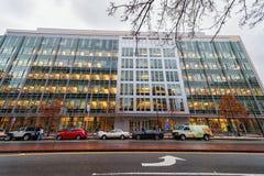 BOSTON MASSACHUSETTS, STYCZEŃ, - 06, 2014: MIT w Boston David R Koch instytut dla Integrative badania nad rakiem obraz royalty free