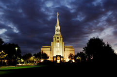 Boston Massachusetts Temple Royalty Free Stock Photography
