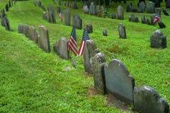Boston, Massachusetts, Tierra de entierro del granero imágenes de archivo libres de regalías