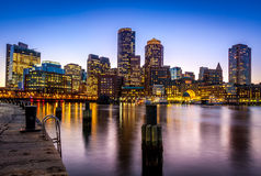 Boston in Massachusetts, U.S.A. Immagini Stock