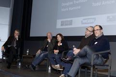 Media Expo Panel Royalty Free Stock Photo