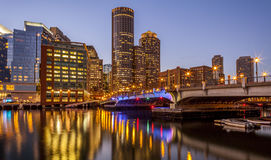 Boston in Massachusetts, USA Stockbild