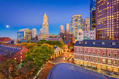 Boston Massachusetts, USA Royaltyfri Foto