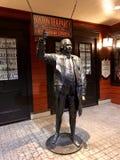 Samuel Adams statue at boston tea party museum