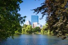 BOSTON, MASSACHUSETTS, USA - JULI 2,2016: Das allgemeiner Garten founde Stockbilder