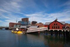 BOSTON,MASSACHUSETTS,USA - JULY 2,2016: Boston Tea Party Museum Stock Photography