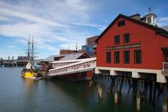 BOSTON,MASSACHUSETTS,USA - JULY 2,2016: Boston Tea Party Museum Royalty Free Stock Photography