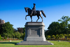 BOSTON,MASSACHUSETTS,USA - JULY 2,2016: The Public Garden founde Royalty Free Stock Image