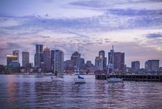 Boston in Massachusetts, USA Royalty Free Stock Photography