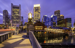 Boston in Massachusetts, USA Stock Photography