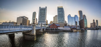 Boston in Massachusetts, USA Stock Photos