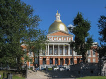 Boston Massachussetts New State House Royalty Free Stock Photography