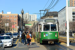 Boston Metro Green Line, Massachusetts, USA Stock Photography