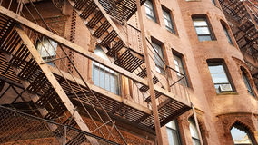 Boston mieszkaniowy dom Obrazy Royalty Free