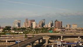 Boston morning skyline Stock Photos