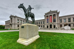 Boston Museum of Fine Arts Royalty Free Stock Photos
