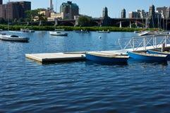 boston na łodzi Zdjęcia Stock