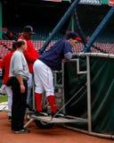 boston nixon Red Sox trav Royaltyfria Foton