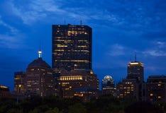 Boston no crepúsculo Foto de Stock