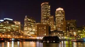 boston noc Fotografia Stock