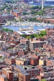 Boston North End Imágenes de archivo libres de regalías