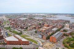 Boston North End, Boston, USA Royalty Free Stock Photos