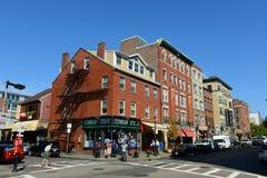 Boston North End, le Massachusetts, Etats-Unis Image libre de droits