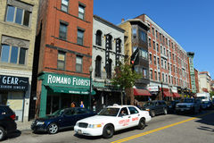 Boston North End, Massachusetts, EUA Imagens de Stock