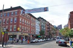 Boston North End, Massachusetts, los E.E.U.U. foto de archivo libre de regalías