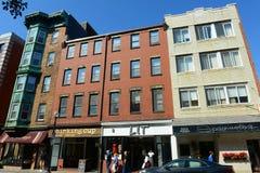 Boston North End, Massachusetts, los E.E.U.U. imagenes de archivo