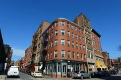 Boston North End, Massachusetts, usa obrazy royalty free