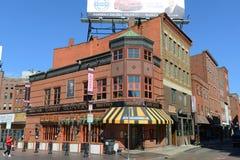 Boston North End, Massachusetts, USA. Boston Goody Glover's Irish Bar at the corner of Salem Street and Cross Street in North End, Boston, Massachusetts, USA stock photography