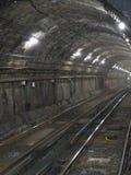 Boston och tunnel fotografering för bildbyråer