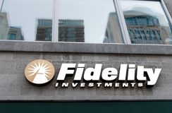Fidelity Investments branch Stock Photos
