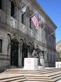Boston offentligt bibliotek Royaltyfri Foto