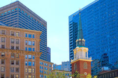 Boston Old South Meeting House historic site Royalty Free Stock Photography