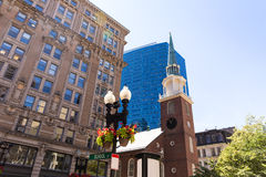 Boston Old South Meeting House historic site Stock Photo