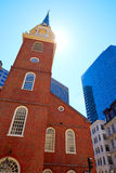 Boston Old South Meeting House historic site Stock Image