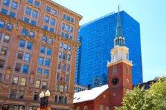 Boston Old South Meeting House historic site Stock Photos