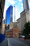 Boston Old State House royalty free stock photo