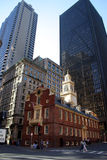 Boston Old State House Stock Photo